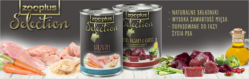 zooplus Selection karma mokra dla psa