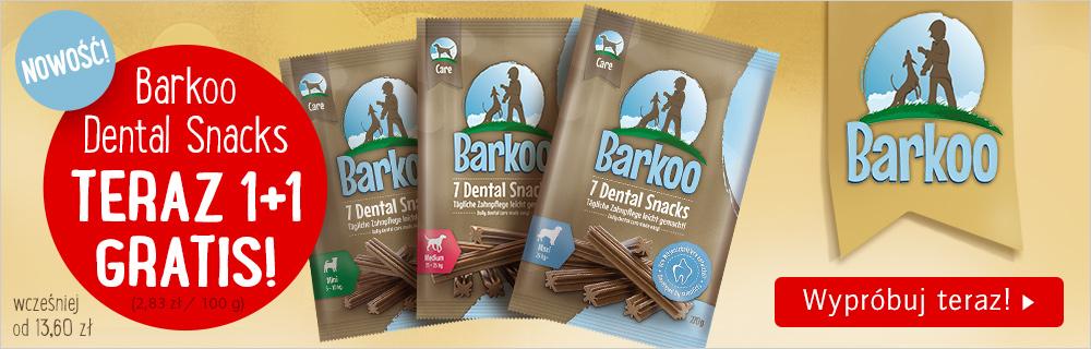 Barkoo Dental dentystyczny przysmak dla psa promocja