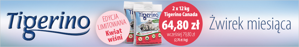 Żwirek dla kota Tigerino