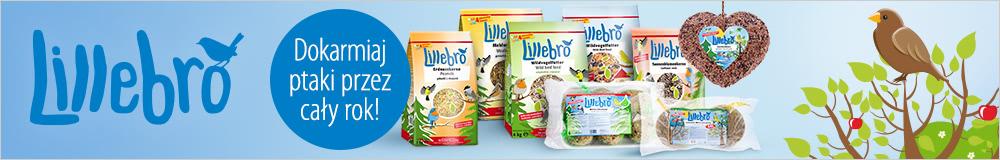 Lillebro karma i przysmaki dla dzikich ptaków