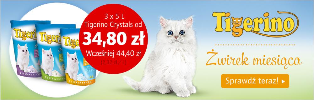 Żwirek Tigerino Crystals