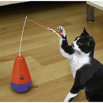 Игрушки для котов и кошек своими руками 51