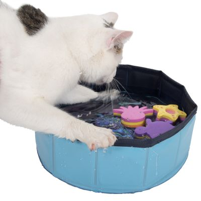 Zabawka wodna dla kota