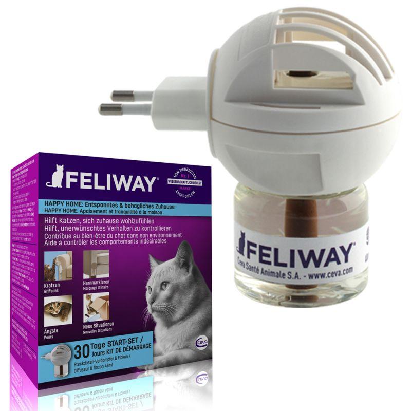feromony szczęścia dla kota Feliway